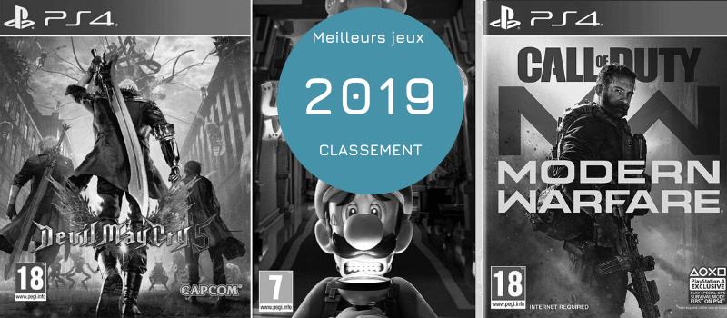 meilleurs jeux 2019