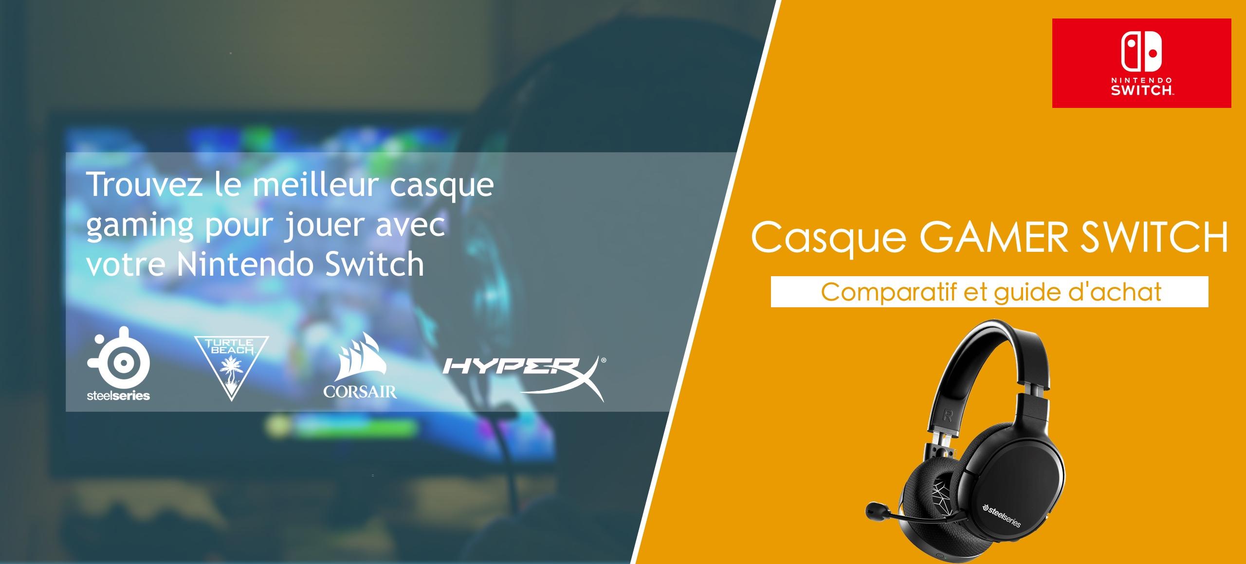 casque gamer switch
