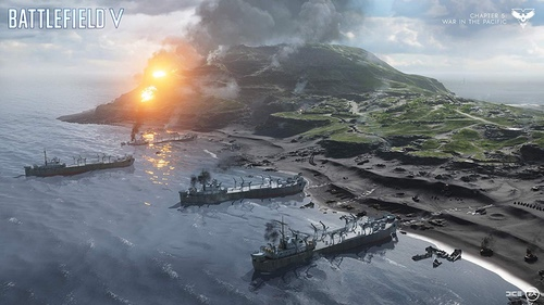 jeu de guerre Battlefield 5