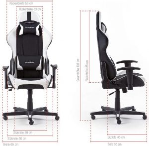 dimension fauteuil gamer