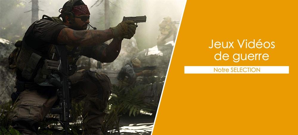 jeux vidéo de guerre